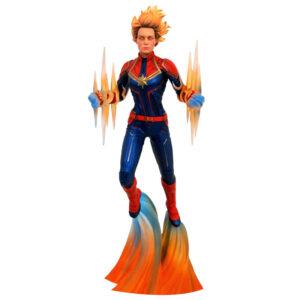 Figura diorama Capitana Marvel 28cm