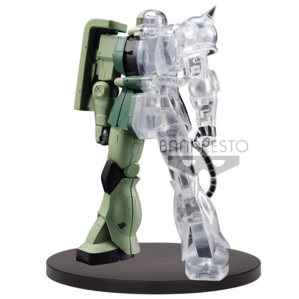 Figura Internal Structure MS-06F Zaku II Mobile Suit Gundam A 14cm
