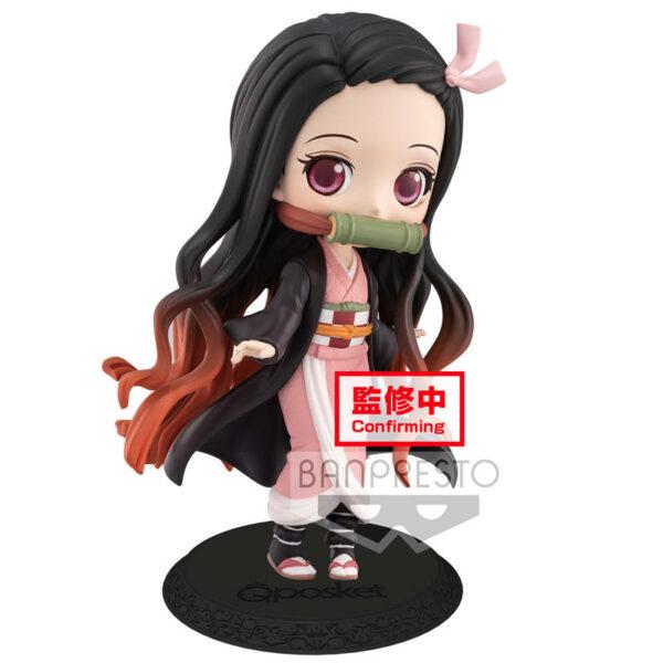 Figura Nezuko Kamado Demon Slayer Kimetsu no Yaiba Q Posket A 14cm