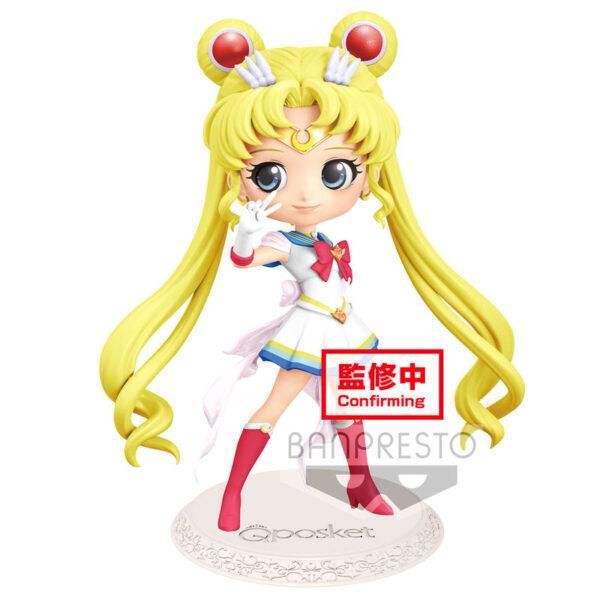 Figura Super Sailor Moon Sailor Moon Eternal The Movie Q Posket B 14cm