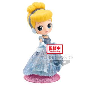 Figura Cenicienta Disney Glitter Q Posket 14cm