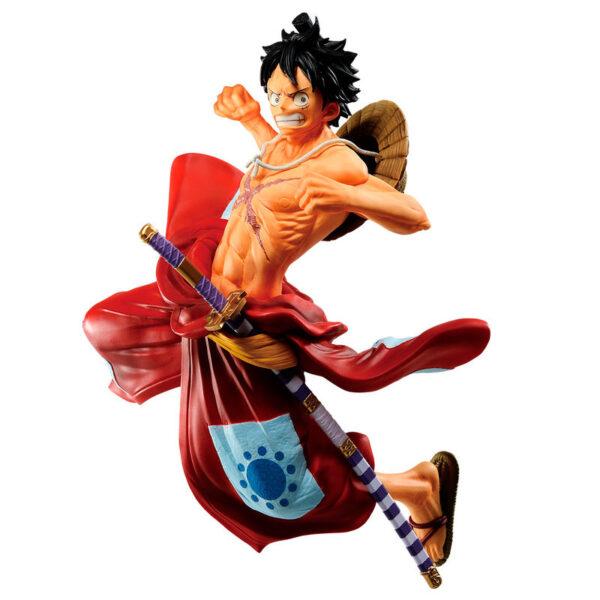 Figura Ichibansho Luffytaro Full Force One Piece 13cm