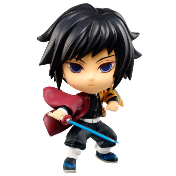 Figura Chibi Kyun-chara Giyu Tomioka The Third Demon Slayer Kimetsu No Yaiba 6cm