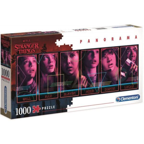 Puzzle Panorama Stranger Things 1000pz