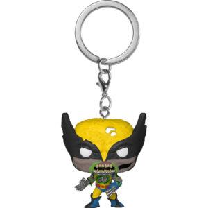 Llavero Pocket POP Marvel Zombies Wolverine