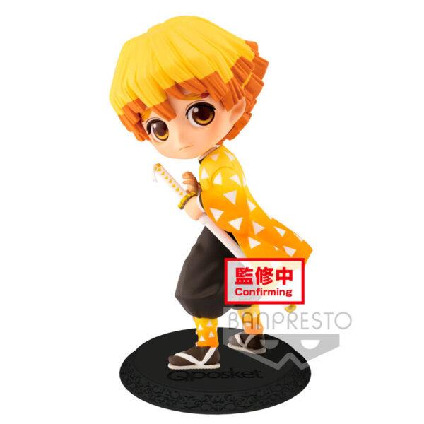 Figura Zenitsu Agatsuma Kimetsu No Yaiba Q Posket A 14cm