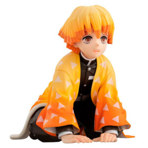 Estatua Zenitsu Palm Size Edition Deluxe Demon Slayer Kimetsu no Yaiba 7cm