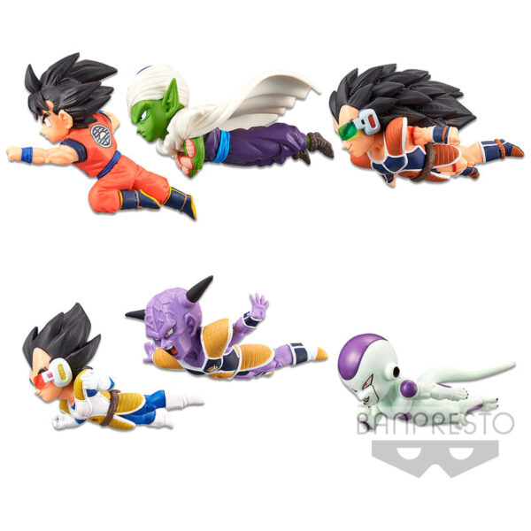 Figura World Collectable The Historical Characters vol.1 Dragon Ball Z World surtido 7cm