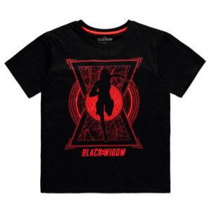 Camiseta mujer World Saviour Black Widow Marvel
