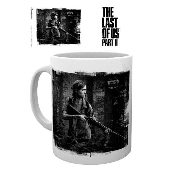 Taza  Black And White The Last Of Us 2