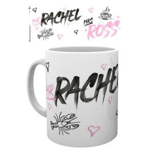 Taza Mr Rachel Mrs Ross Friends