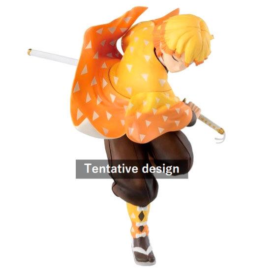 Figura Ichibansho Zenitsu Agatsuma Mugen Train Demon Slayer Kimetsu No Yaiba 16cm