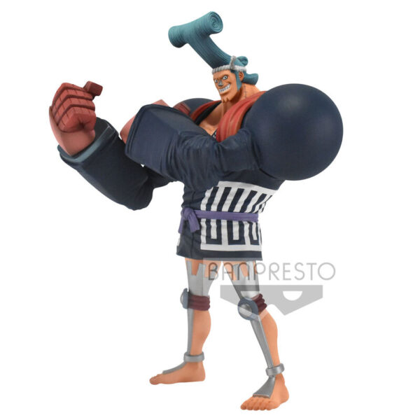 Figura Franky Wanokuni vol. 8 The Grandline Men One Piece 17cm