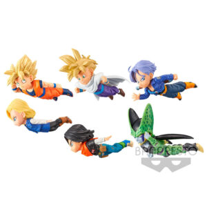Figura World Collectable The Historical Characters vol. 2 Dragon Ball Z surtido 7cm