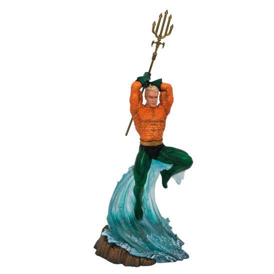Estatua diorama Aquaman DC Comics 30cm
