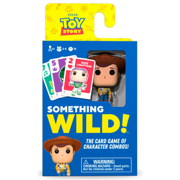 Juego cartas Something Wild! Toy Story Disney Ingles