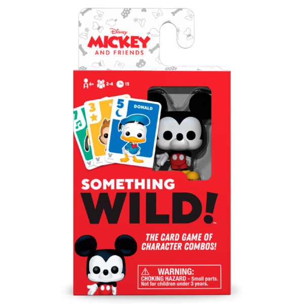 Juego cartas Something Wild! Mickey and Friends Disney Frances / Ingles