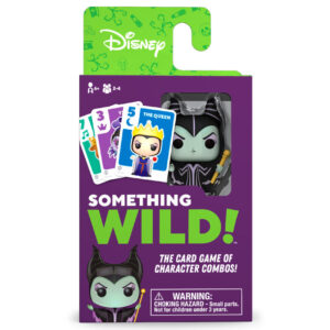 Juego cartas Something Wild! Villanas Disney Frances / Ingles