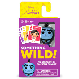 Juego cartas Something Wild! Aladdin Disney Ingles