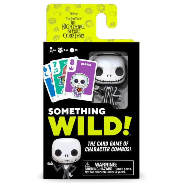 Juego cartas Something Wild! Pesadilla Antes de Navidad Disney Frances / Ingles