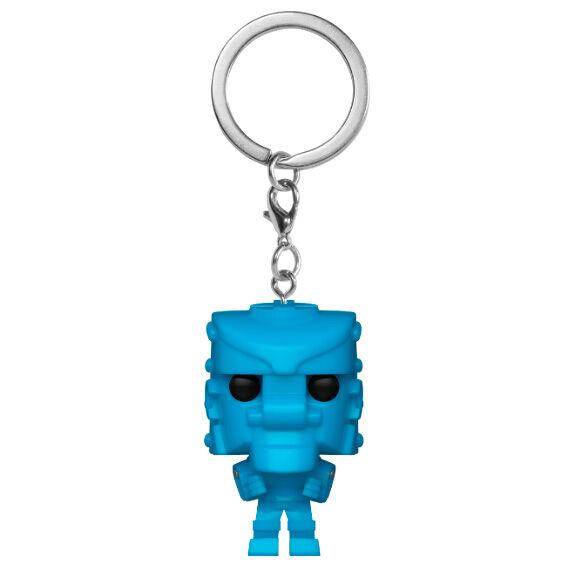 Llavero Pocket POP Mattel Rock Em Sock Em Robot Blue