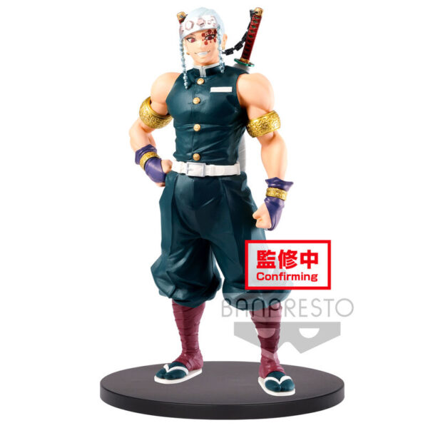 Figura Tengen Uzui Demon Slayer Kimetsu No Yaiba vol. 11 18cm