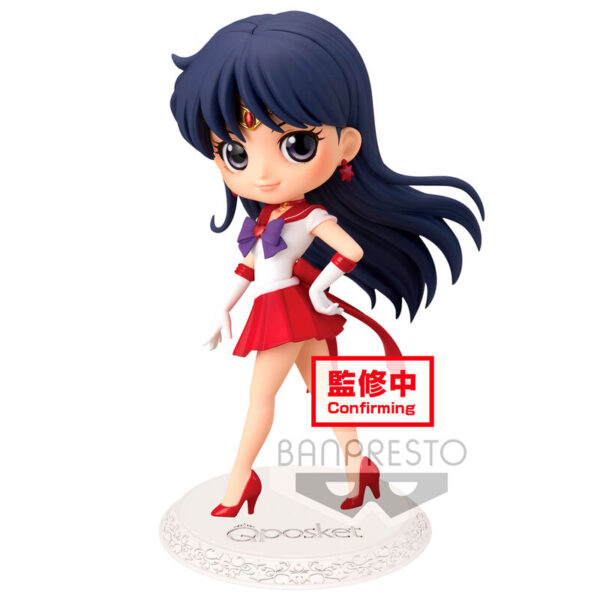 Figura Super Sailor Mars Sailor Moon Eternal Q Posket ver. A 14cm