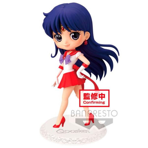 Figura Super Sailor Mars Sailor Moon Eternal Q Posket ver. B 14cm