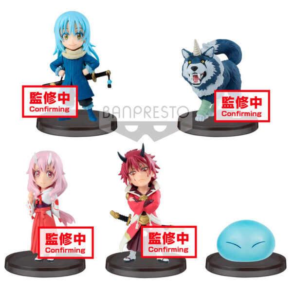 Figura World Collectable That Time I Got Reincarnated as a Slime surtido 7cm