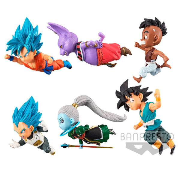 Figura The Historical Characters vol. 2 World Collectable Dragon Ball Super surtido 7cm