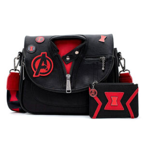 Bolso Black Widow Marvel Loungefly