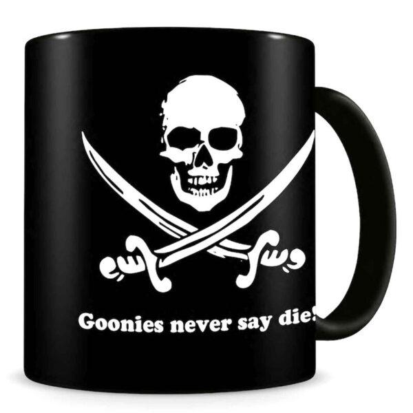 Taza Never Say Die The Goonies