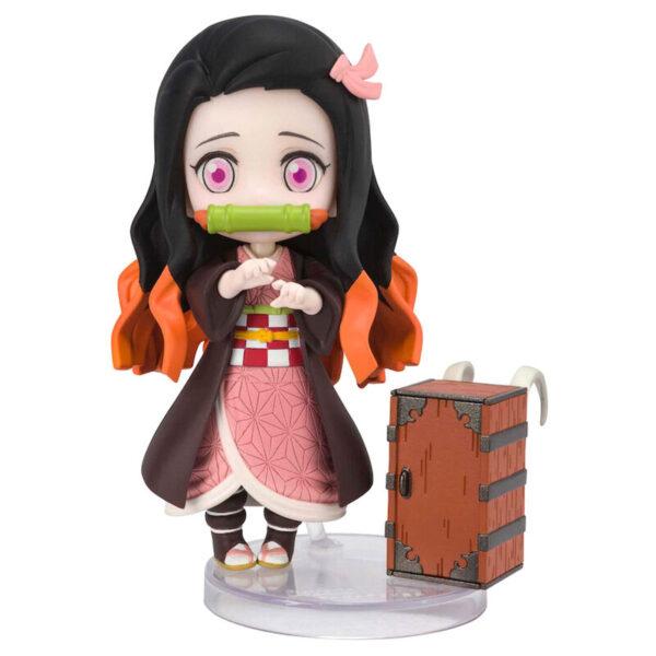 Figura Nezuko Kamado Demon Slayer Kimetsu No Yaiba 9cm