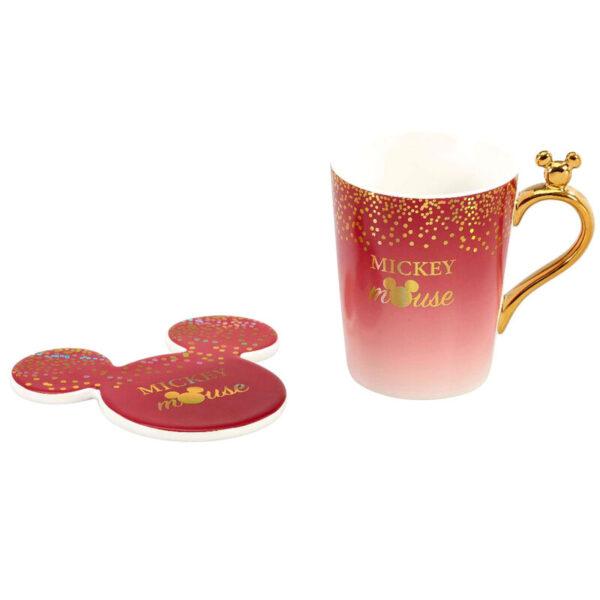 Set taza + posavasos Mickey Berry Disney