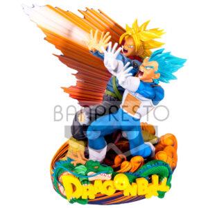 Figura Super Master Diorama Vegeta & Trunks Dragon Ball Super 20cm