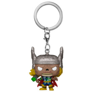 Llavero Pocket POP Marvel Zombies Thor