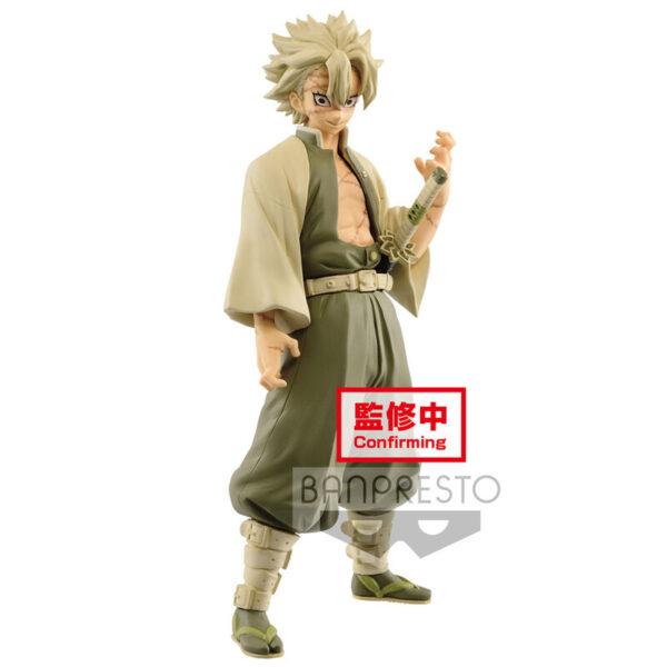 Figura Sanemi Shinazugawa Demon Slayer Kimetsu no Yaiba 17cm