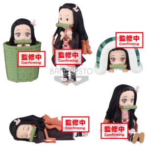 Figura World Collectable Nezuko Kamado Demon Slayer Kimetsu No Yaiba surtido 7cm