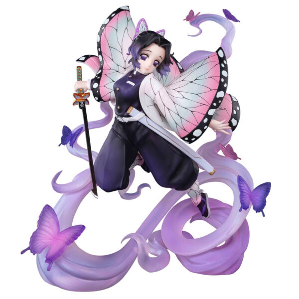 Figura Shinobu Kocho Insect Breathing Demon Slayer Kimetsu No Yaiba 18cm