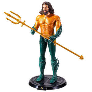 Figura Maleable Bendyfigs Aquaman DC Comics 19cm