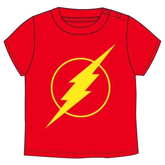 Camiseta Flash DC Comics bebe