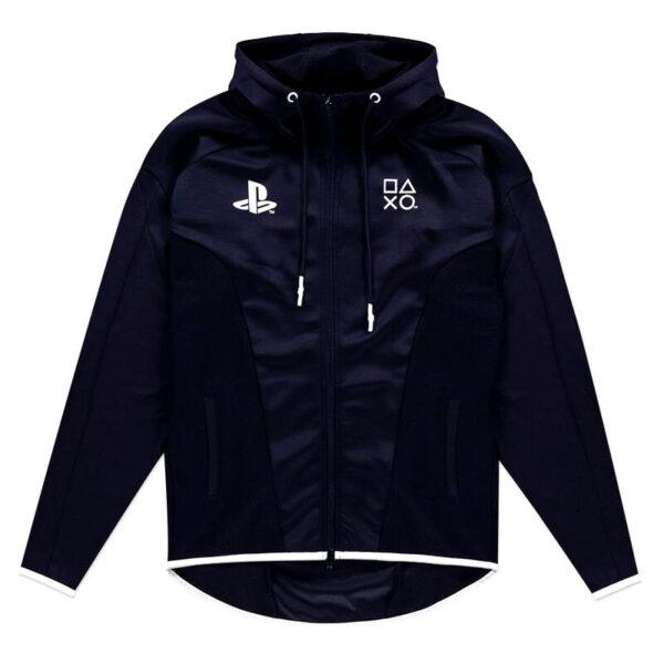 Sudadera capucha Black and White PlayStation