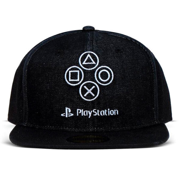 Gorra Denim Symbols PlayStation