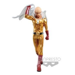 Figura Premium Saitama Metalic Color One Punch Man 20cm