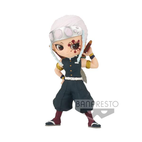 Figura Tengen Uzui Demon Slayer: Kimetsu no Yaiba Q Posket petit vol.4 7cm