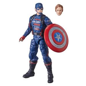 Figura Capitan America Falcon y el Soldado de Inverno Marvel 15cm